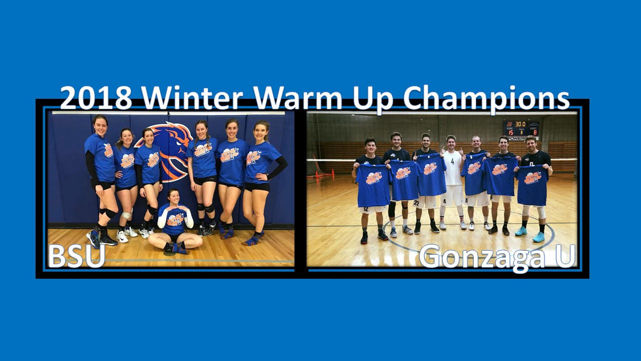2018 Winter Warm Up Champions